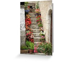 Pretty Steps, France Greeting Card