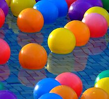 Floating Balls by PhoenixArt