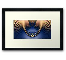 The Necklace Framed Print