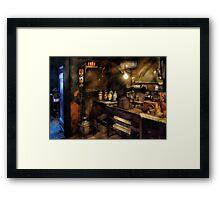 Photographer - The Dark Room Framed Print
