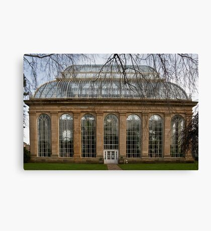 Victorian Temperate Palm House Canvas Print