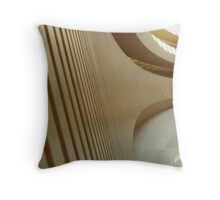 Anthropomorphic Curves - Zurich, Switzerland Throw Pillow