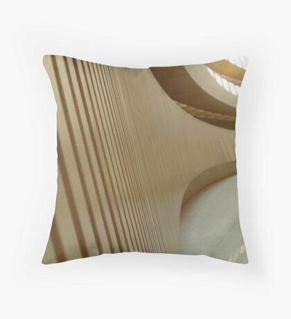 Anthropomorphic Curves - Zurich, Switzerland Throw Pillow