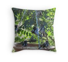 GET DOWN BEFORE YOU FALL DOWN! Throw Pillow