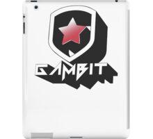 Gambit Gaming 2015 3D logo iPad Case/Skin