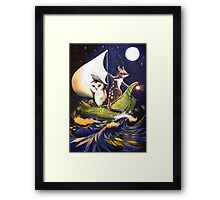 The Owl & the Quoll Framed Print