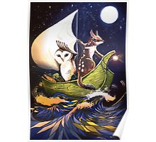 The Owl & the Quoll Poster