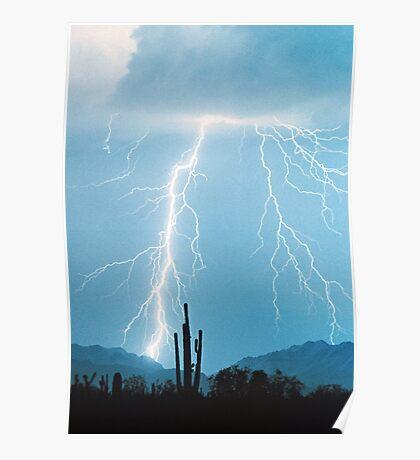 Lightning Rain Poster