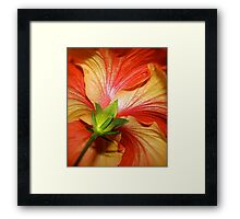 Brush & Palette Framed Print