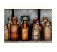 Chemist - Various Chemicals Art Print
