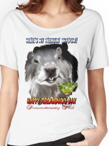 Punxsutawney Phil's Shadow Women's Relaxed Fit T-Shirt