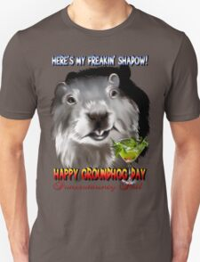 Punxsutawney Phil's Shadow Unisex T-Shirt