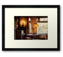 Author -  Style and Class Framed Print