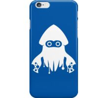 Super Splatoon Bros. (Blue) iPhone Case/Skin