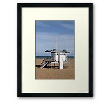Lifeguard Station, Skegness Framed Print