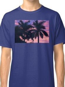 Palm Trees and Sunset Classic T-Shirt