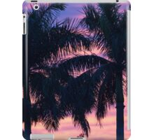 Palm Trees and Sunset iPad Case/Skin