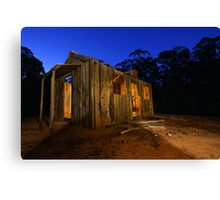 Lights are on but no one's home! Canvas Print