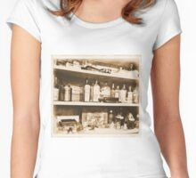 Antique Bottles Women's Fitted Scoop T-Shirt