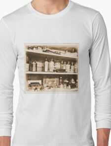 Antique Bottles Long Sleeve T-Shirt