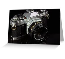 The King of 35mm - Canon AE-1 Greeting Card