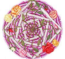 Roses by TheMandalaLady