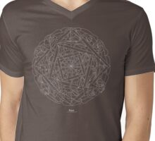 Roses [white design] Mens V-Neck T-Shirt
