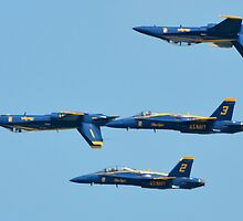 The Blue Angels by Matsumoto