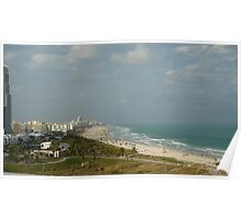 South Beach, Miami Poster
