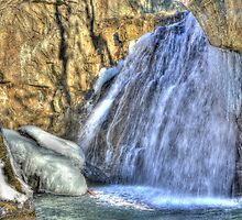Kilgore Falls Winter by tom fijalkovic