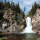 Running Eagle Falls by Terence Russell