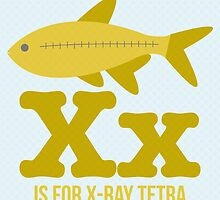X is for X-Ray Tetra by Amy Huxtable