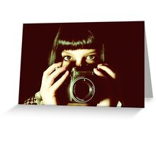 Kristie - Behind the lens Greeting Card