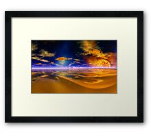 At Worlds End Framed Print