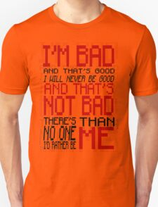Bad Anon - Wreck-it Ralph Unisex T-Shirt
