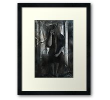Pain and Self Loathing Framed Print