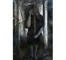Pain and Self Loathing Photographic Print