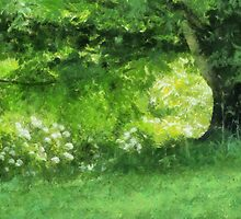 Casually Green by Jean Gregory  Evans