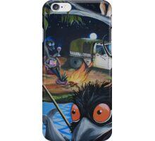 Relaxing Emus  iPhone Case/Skin