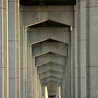 Under the Reedy Point Bridge by brucecasale