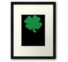 Shamrock Irish  Framed Print