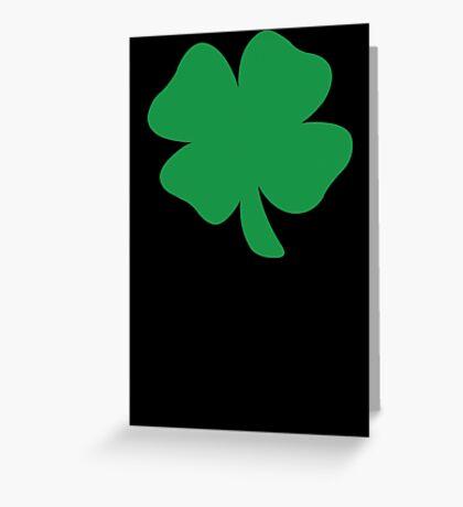 Shamrock Irish  Greeting Card