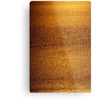 Cambridge Gulf Liquid Gold Metal Print