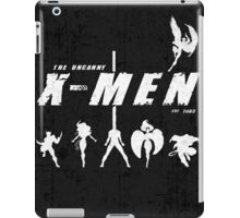 Uncanny X-Men Stand Texture iPad Case/Skin