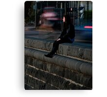 Waiting for him Canvas Print