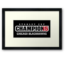 Stanley Cup Champions 2015 Framed Print