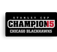 Stanley Cup Champions 2015 Canvas Print