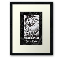 The Bunny with Claws Framed Print
