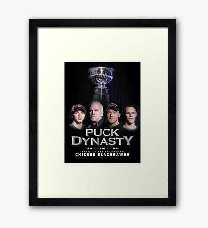 Puck Dynasty Framed Print