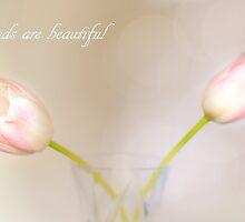 Friends are beautiful by Angela King-Jones